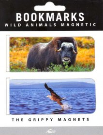 BOKMERKE MAGNET2PK ANIMAL DP10