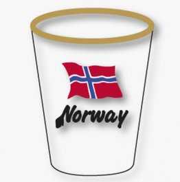 Shotglass, Norway
