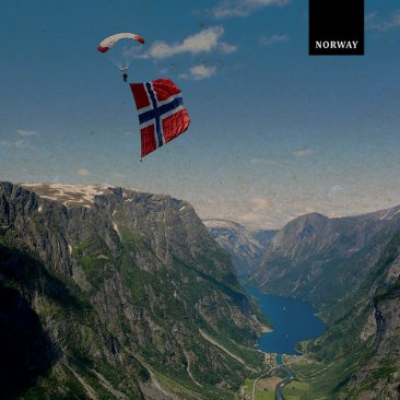 TURIST TREND NORWAY Flag