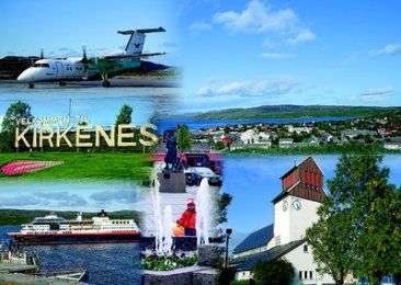 KIRKENES COLLAGE